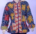 Handmade Quilted Ladies Short Winter Jackets - Kantha Jacke