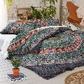 Indian Mandala Queen Size Duvet Cover