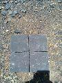 Black Granite Cobbles Stones