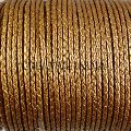 Braided Round Leather Cord