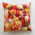 Painted Rose Cushion Cover