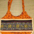 LADIES Handmade Printed textile bag