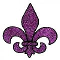 Multi Colored Mardi Gras Tattoos Sticker