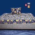 PRINTED BED COVER SINGLE