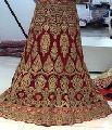 fancy ghagra indian wedding bridal lehenga choli