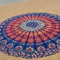 Hippie Boho Beach Throw Mandala Tapestry