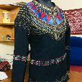 Womens thread cotton moti jacket