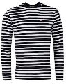 Mens Designer Striped  T-Shirt