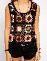 Crochet Multicolored Top
