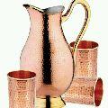 Copper Muglai Jug