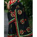 Cotton Silk Applique Saree
