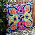 Suzani Uzbekistan Style Cotton Sofa Cushion Cover