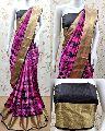 Tussar Cotton Silk Saree