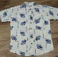 Mens Half Sleeve Printed Shirts