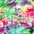 Multi Tie Dyed Cotton Fabric