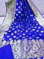 Banarsi handloom katan silk saree