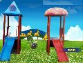Double Slide Playground Multi Play Station