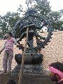 Stone Nataraja Statue