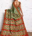 Embroidered Tussar Silk Sarees
