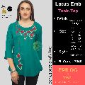 EPILOG  Women Embroidered Straight Tunic Top