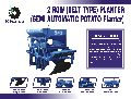 Semi Automatic Belt Type Potato Planter
