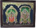 Alamelu Mangai Thayar Tanjore Painting