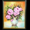 Flower Vase Wall Decor Canvas Painting