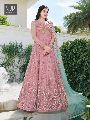 Pink Color Net Designer Anarkali Suit
