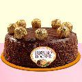 Ferrero Rochers Chocolate Cake