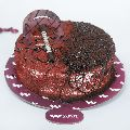 Fusion Red Velvet & Chocolate Cake