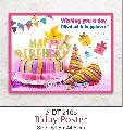 Happy Birthday Paper Poster
