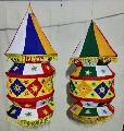Handicraft  three  folded  lamp  shade