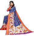 Slub Cotton Printed saree