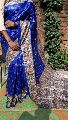 Handloom Madhubani Print Ghicha Pure Silk Saree