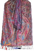 Indian Viscose Antique Shawl