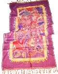 Trendy Viscose Antique Jamavar Shawl