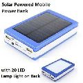 Solar Charger Portable Power Bank with Led Light