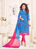 Designer Chanderi Cotton Dress Material