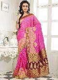 Divine Boutique Beautiful Banarasi Silk Saree