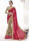 Divine Boutique Chiffon & Net Designer Saree
