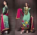 Designer Party Wear Zari Resham Embroidered Dress