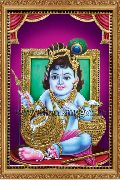 Lord Krishna Tanjore Paintings