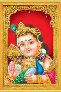 Lord Murugan Tanjore Painting
