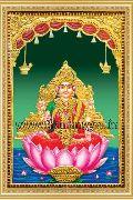 Sri Lakshmi Tanjore Painting