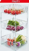 Three Layer Kitchen Baskets