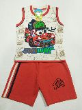 Boys Sleeveless Baba Suit