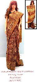 Kalankari Soft Cotton Saree with Blouse