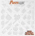 Perforated acoustic ceiling tile
