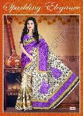 Bhagalpuri silk cotton feel saree