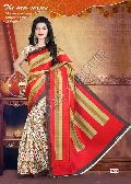 Half & Half Semi Cotton Saree